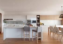 Classic White Kitchen Designs Polytec Doors In Classic White Sheen And Natural Oak Ravine