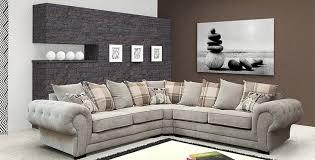 Large Corner Sofa Ashby Large Corner Sofa Graphite Fabric