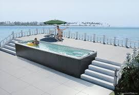 Bathtub Swimming Pool Long Outdoor Spa Swimming Whirlpool Pool Massage Bathtub Tub
