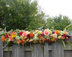 wedding arches etsy fall wedding arch etsy