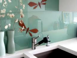 design ideas of glass backsplashes for kitchens home design and