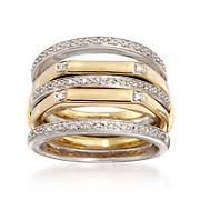 stackable diamond rings stackable rings stacking rings stackable ring jewelry ross simons