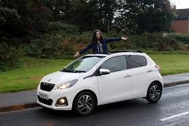 peugeot new models peugeot 108 car review lifestyle blogger lily kitten