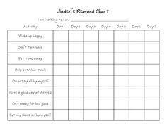 printable reward chart template activity shelter printable