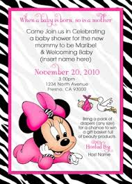 baby minnie mouse baby shower baby minnie mouse baby shower invitations cloveranddot