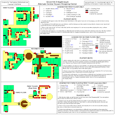 3 Floor Mall by Silent Hill 3 Alternate Shopping Center Map For Playstation 2 By
