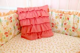 Coral Nursery Bedding Sets by Bumperless Sweet Sorbet Baby Bedding Lottie Da Baby Baby