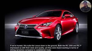 lexus rc 300 driver 2016 lexus rc 300h review youtube