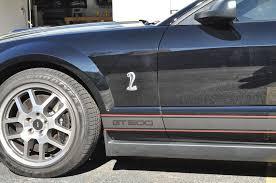 2007 Black Mustang 2007 Mustang Gt 500 Shelby Cobra U2013 Custom G2g Stripe Package Car