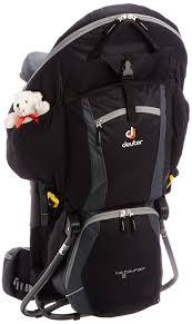 Deuter Kid Comfort Ii Sunshade Deuter Kid U0027s Comfort Ii Child Carrier Backpack Black Granite