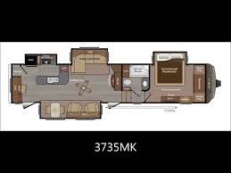 montana 5th wheel floor plans keystone rv youtube