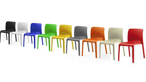 Funky Dining Chairs Funky Hardwearing Modern Bright Coloured Plastic Stackable Chairs