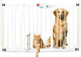 Extra Wide Pressure Fit Safety Gate Best Safety Gate With Pet Door Comprehensive Guide 2017