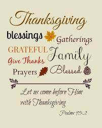 thanksgiving prayers the bible thanksgiving blessings