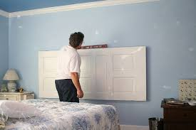 How To Make A Door Headboard by A New Headboard For The Guest Room Christmas Notebook