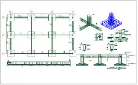 plan layout plan layout detail view dwg file