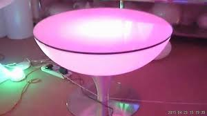 how to work of led coffee table youtube