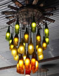 Indoor Chandeliers by 25 Creative Projects With Glass Bottles You U0027ll Love To Keep Homeyou
