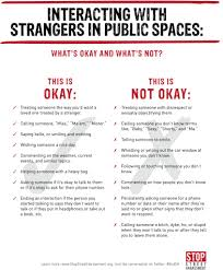 how to interact with strangers in public spaces street