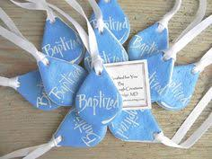 baptism ornament favors snowflake salt dough christmas tree ornament winter wedding