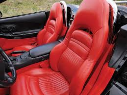 corvette c5 interior c5 corvette replacement leather like seat covers rpidesigns com