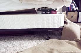 Burlap Bed Skirt Diy No Sew Burlap Bedskirt Styleberry Blog