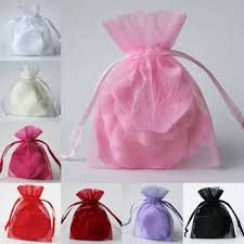 organza bags wholesale promotion wholesale custom drawstring logo printed personalized