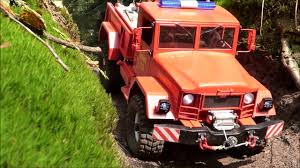 jeep brush truck reo m35 brush truck aufräumen im wald cross rc hc4 youtube