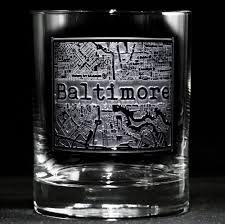 rocks glass street maps glassware hometown city rocks glass set of 2