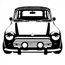 classic cars clip art classic mini cooper vinyl wall art car sticker bedroom living room