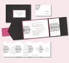 Pocket Invitations Stunning Artistic Scroll Pocket Wedding Invitation Alt From Pocket