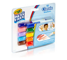 color wonder mini markers 10ct classic crayola