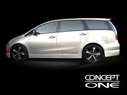 mitsubishi grandis 2010 concept one wheels innovative technology