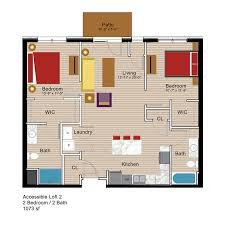 ada floor plans ada bedroom m upscale residences bathroom requirements bed modern
