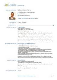 Resume In English Sample by Cv In English Example Europass Professional Resume Service Geelong