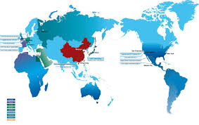 China On A Map by Map Of Operations