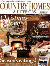 Country Homes And Interiors Christmas by L I N D S A Y A L K E R Press