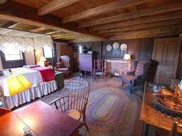 1665 pilgrim era saltbox garrison style home gilmanton new