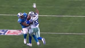 from a cowboys fan pass interference call should stuck in