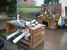 full pallet kitchen near our sandpit my projects pinterest