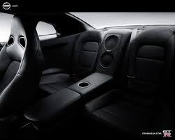 black nissan inside nissan gtr interior back seat wallpaper 1280x1024 19739