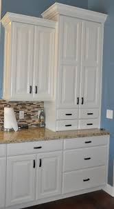 stone ridge cabinets kitchen cabinets off white with black