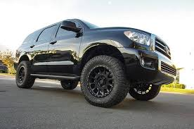 toyota sequoia lifted pics readylift 3 inch sst lift kit 2008 2017 toyota sequoia