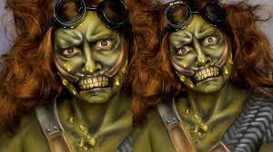 Fallout Halloween Costume Fallout 4 Super Mutant Makeup Tutorial Jordan Hanz