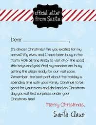 printable santa letter 14 vintage from the desk of santa claus