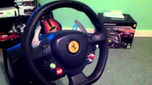 thrustmaster 458 review thrustmaster 458 italia wheel review