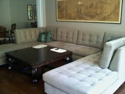 mid century modern sofa with chaise mid century sectional fifty2 co
