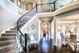 the entry into the plantation homes model home in the vineyards