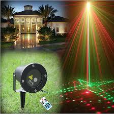 Landscape Laser Lights Remote Control 20in1 Rg Waterproof Latest Elf Laser Light Outdoor