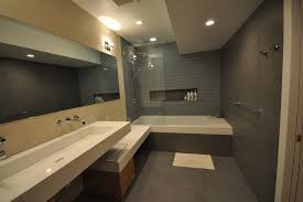 tub shower combo bathroom traditional with bath glass screen